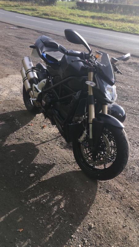 Ducati F848 848 STREETFIGHTER 2013 MATTE BLACK