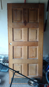 "36"" solid exterior door FREE"