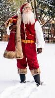 Père Noël pour vos événements corporatifs, fêtes de village...