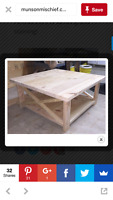 Looking for Someone Who can Build Me This Coffee Table