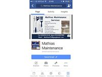 Mathias maintenance services. Plastering , Painting & Decorating
