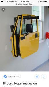 Looking to buy YELLOW jeep tj doors.