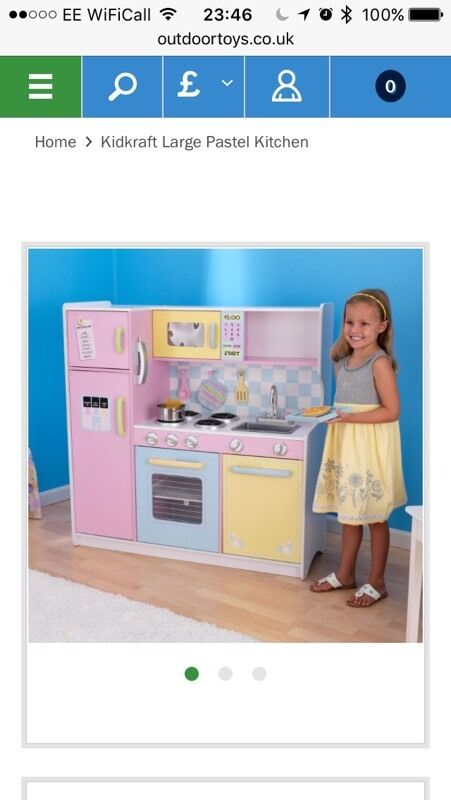 Kiddie Craft Deluxe Kitchen