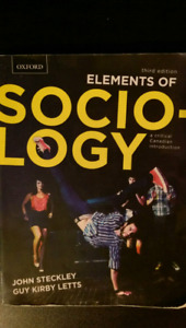 Elements of Sociology 3rd edition. Steckley & Letts