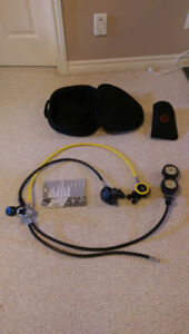 Scuba Equipment - Regulator c/w Octopus and Pivet to Console