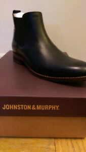 NWT Johnston & Murphy Garner Leather Chelsea Boot (size 8, 9,10)
