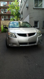 Pontiac Vibe 2003 manual for parts