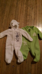 newborn clothing and extras