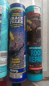Black Knight asphalt roof repair