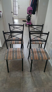 Set of 4 Dining Chairs London Ontario image 1