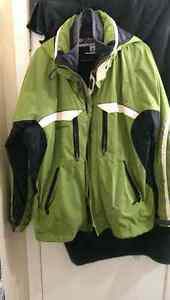 Men's Large Columbia 3-in-1 winter jacket