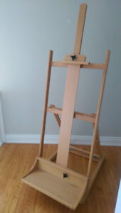 Never used Beechwood Artist Easel - hold canvas up to 70 inches