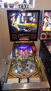1988 Williams Taxi pinball (Marilyn) for trade.
