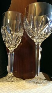 "Marquis"" pattern Waterford Crystal Wine Goblets"