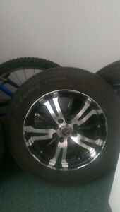 tires and 4 bolt universal rims