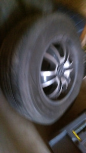"18"" American Racing Rims on brand new tires"