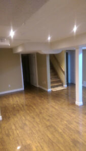 LARGE BEDROOM IN A 3 BEDROOM BRAND NEW LUXURIOUS NEW BASEMENT
