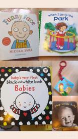 Hardback book bundle for baby/toddler