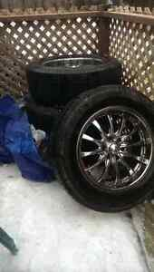 """Selling 20"""" rims (took off of a chevy)"""