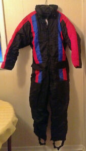 Adult One Piece Snowsuit - Size Small