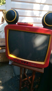 "MICKEY MOUSE 20"" COLOR TV DISNEY"