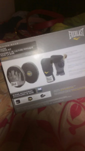 Boxing fitness kit(gloves and pads)