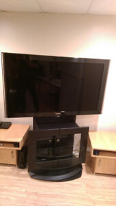 """52"""" Samsung LCD TV with Swivel Stand"""