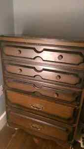 Antique dresser with mirror + one dresser Kitchener / Waterloo Kitchener Area image 1
