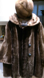 MINK HAT AND MIX FUR COST