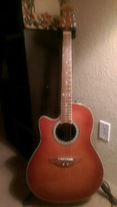 Ovation acoustic electric-left hand