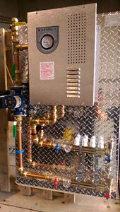 in floor heating electric boiler package board pex easy install Regina Regina Area image 3