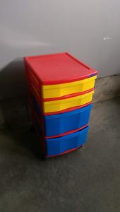 Baby or child toy storage unit