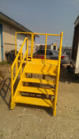 Industrial Stair / Stool For Sale