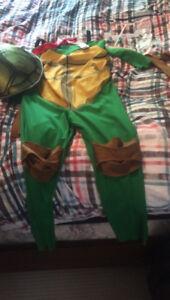 Ninja turtle costume size 7/8