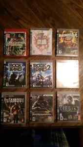 Various PS3 video games