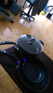 STARFRIT FRY PANS-->>>NEW CONDITION!!!!