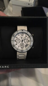 MARC by Marc Jacobs chronograph watch.