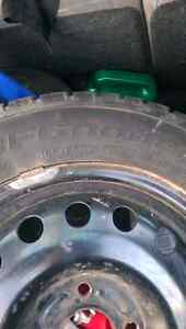 2 Winter tires on rims 185-65/R15  Kitchener / Waterloo Kitchener Area image 1
