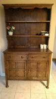 Antique dark wood cabinet from England OBO