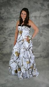 Real Tree AP Snow Gown (for grad dress or wedding)