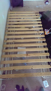 Single bed frame plus other items