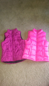 Girls vests