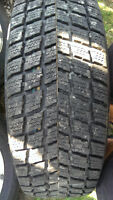 Like New Winter Tires on Caravan Rims 215/70R16
