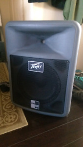 Peavey Active Speaker with Mic/Stand/Cables