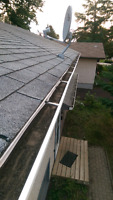 Eavestroph cleaning and other jobs