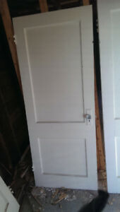 Old fashioned doors with old Crystal door knobs. Best offer