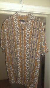 vintage 70's hawaiin shirt
