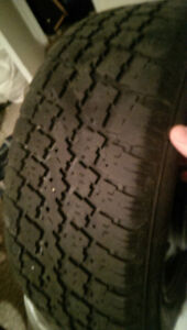 infiniti winter tires only used one season London Ontario image 3