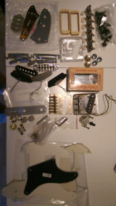 Pièces/Parts/Pickguards/Bodies,... Sale/Trade, Fender, Gibson,..
