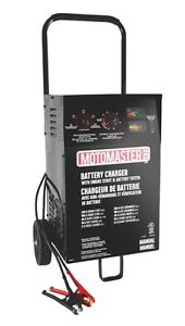 MotoMaster 40/10/2A Battery Charger with 200A Engine Start
